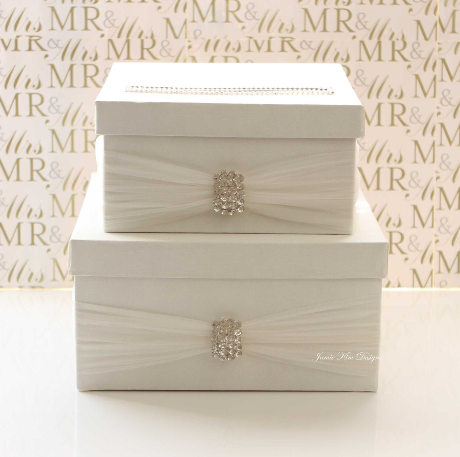 Wedding Card Holder Gift Ideas: Wedding Card Box Money Box Gift Card Holder Custom Made To