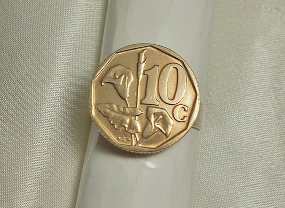 South Africa Coin Ring 1996