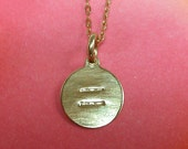 EQUALITY - Gold Filled Charm and Chain