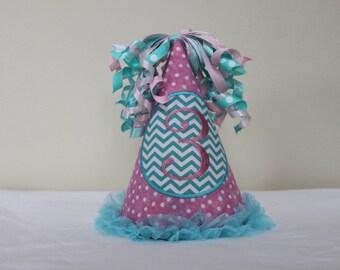 Birthday hat for little girl