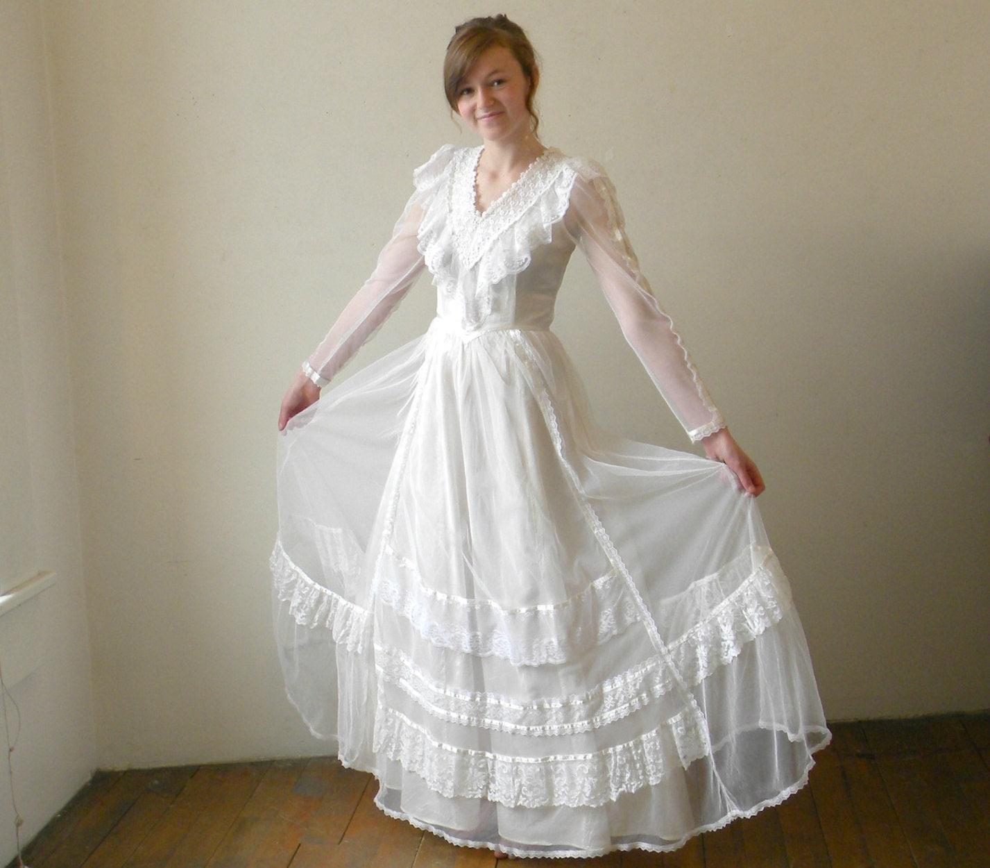 Vintage Jessica Mcclintock Dresses