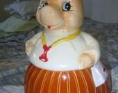 Vintage Horse Nurse or Doctor Cookie Jar