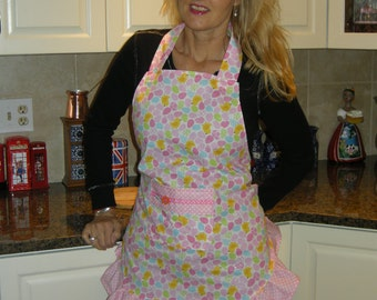 ON SALE!!! Candy Coloured Easter Egg Apron