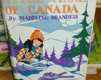 """Vintage """"Little Anne of Canada"""" by Madeline Brandeis"""
