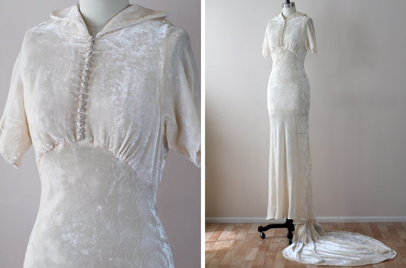 Wedding Dresses Velvet 93