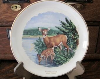 Vintage Pennsylvania's Black Forest Souvenir Plate