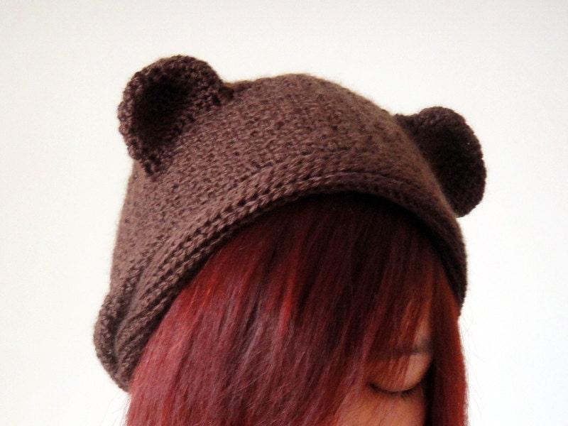 Hat Crochet Bear