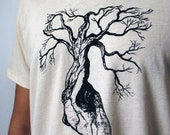 Organic Cotton Mens t-shirt  - XL / Extra Large  - Printed and Ready to Ship to your Valentine