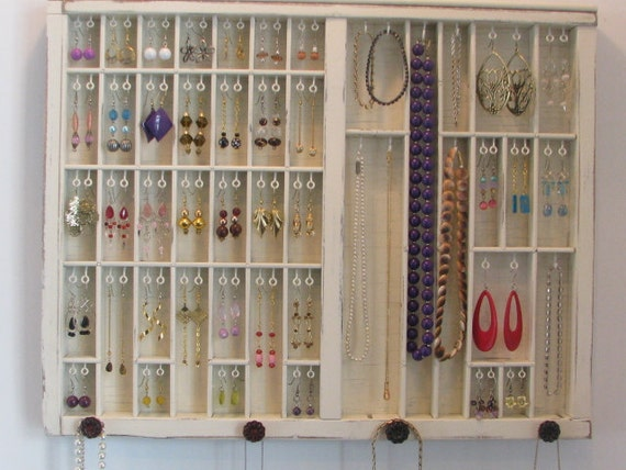 Storage for your Necklace Shabby Chic