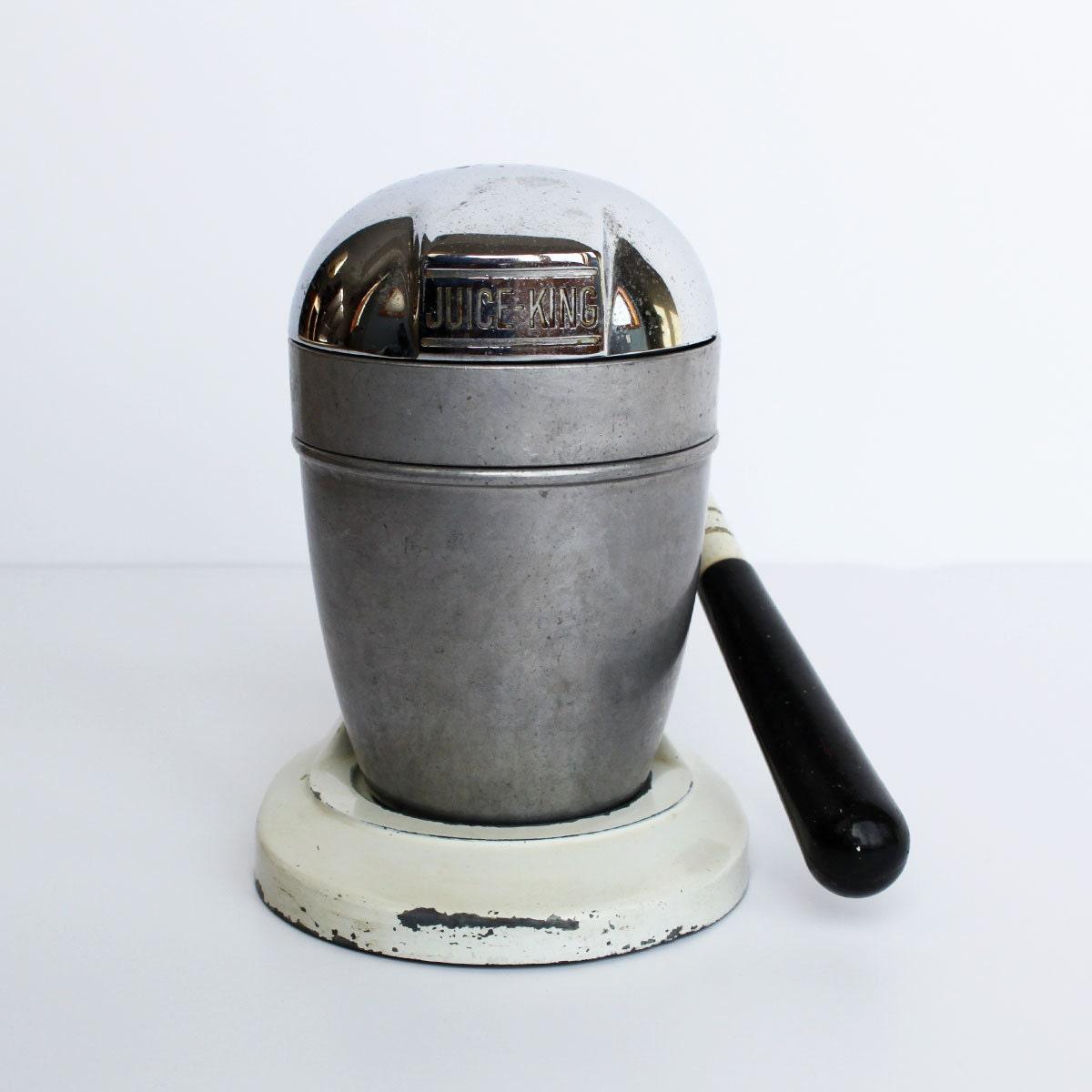 Non Electric Juicer ~ Vintage juice king cast aluminum juicer non electric model jk