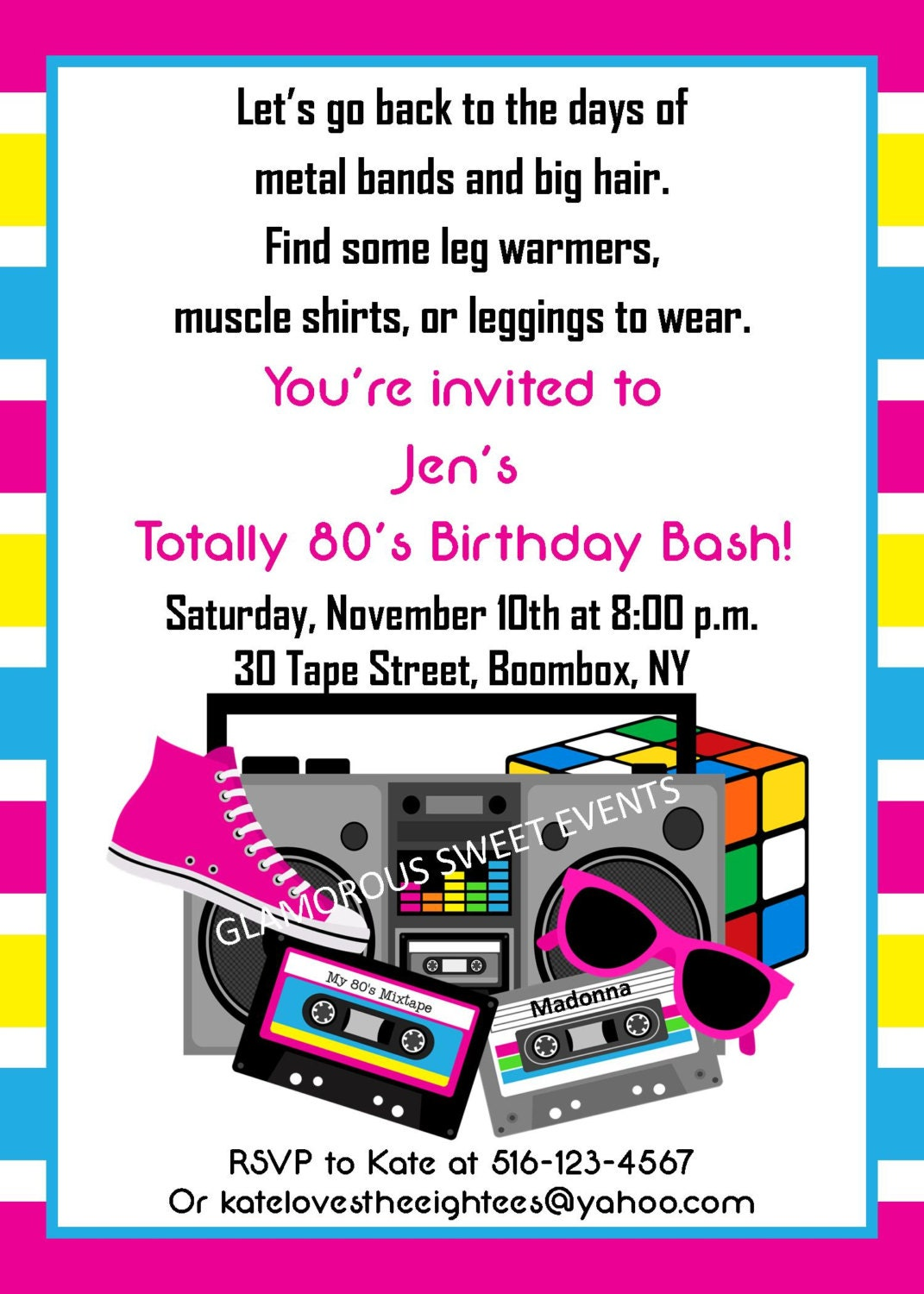 18 Party Invitations was great invitation sample