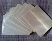 ivory cream  shimmer envelopes 12pcs.