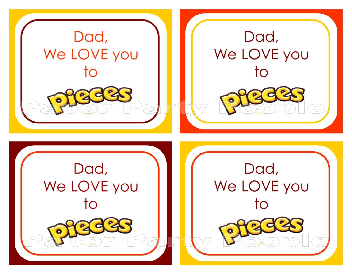Simplicity image with love you to pieces printable