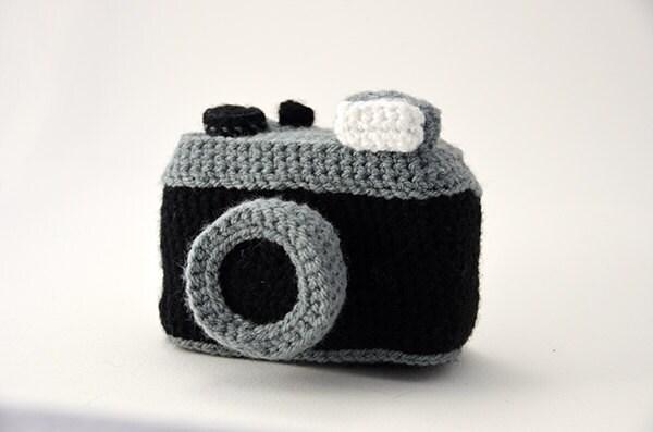 Photo Camera Crochet Pattern Vintage Lomography Style Camera
