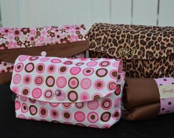 Design Your Own: Diaper & Wipe Clutch