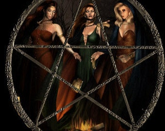 Huge Wiccan Course---Plus The Alexandrian and The Garnerian Book of Shadows (Read Description)