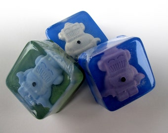 Robot Soap Favors