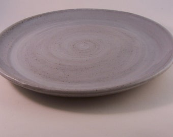 Made to order large dinner plate. 26 cm.