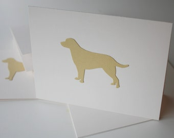 Notecards Set of 10 - Yellow Labrador