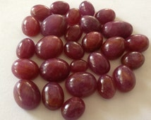 Natural Ruby Cabochons blood red ruby Size 7x9mm to 12x18 mm Weight 278 carats Pcs 27 Wholesale ruby lot