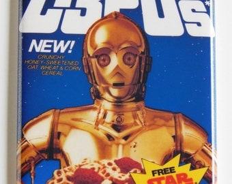 Star Wars C3PO's Cereal Box Fridge Magnet
