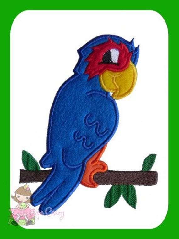 Parrot Applique design