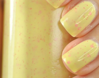Bliss Yellow Nail Polish 15ml (.5oz)