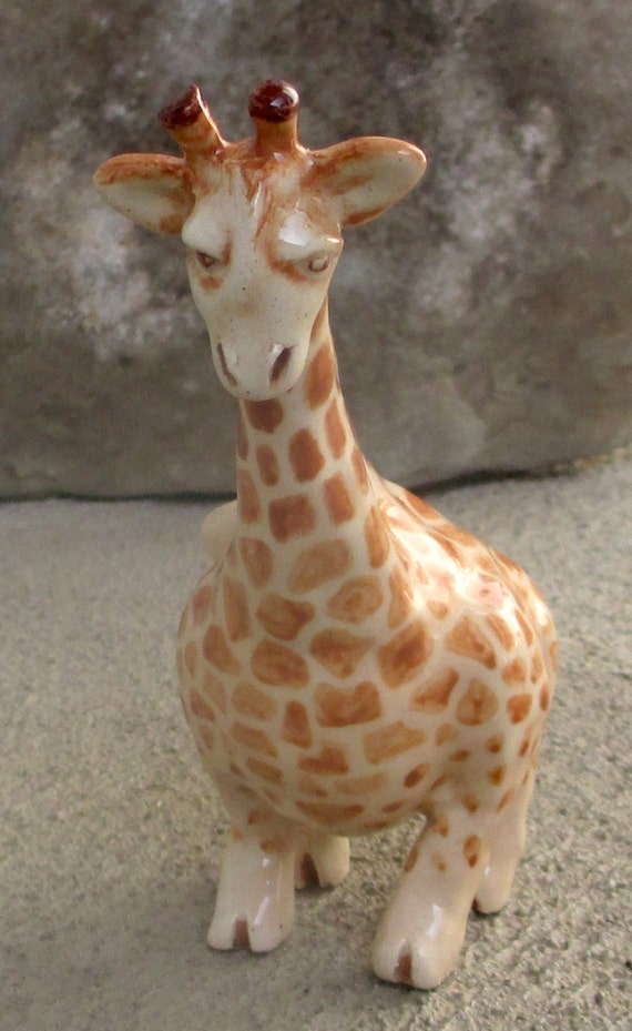 Items similar to Giraffe Clay Whistle on Etsy