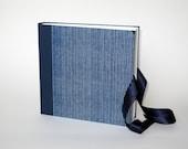 """Photo Album 23x23cm  - cover CHIYOGAMI Design """"Fabric Look"""""""