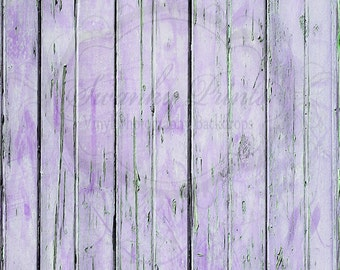 5ft x 7ft Vinyl Photography backdrop / Worn Purple Distressed Wood