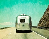 Road Trip, Airstream, On the Road 8 x 10 Photography