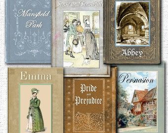 Jane Austen Party Banner Printable Instant Download Files