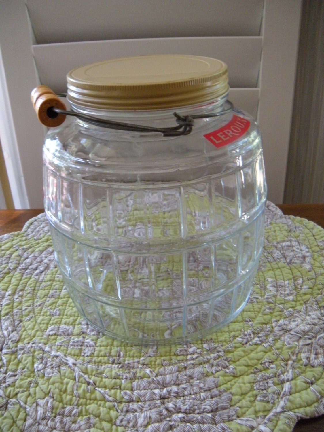 Vintage Pickle Jar