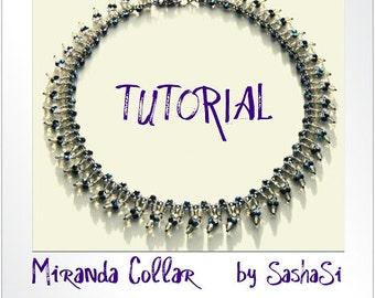 Beading Tutorial DOWNLOAD- Miranda Collar