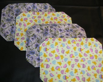 Reversible Easter/Spring Placemats