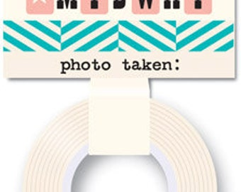 October Afternoon Midway Washi Tape Photo Log -- MSRP 4.00