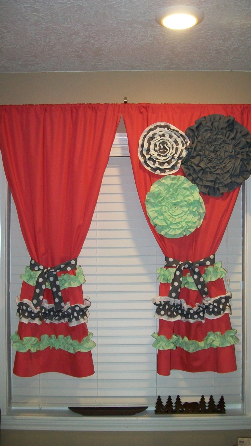 Window Panels Curtain Custom Made Designer By Countryruffles