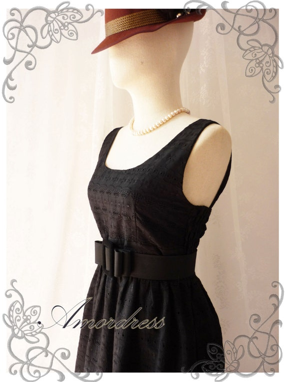 Black Lace Dress Princess Lacy Romantic Black Summer Lace Dress Party Prom Wedding Birthday Anniversary Dress -S-M-