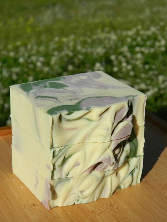 Natural Soap, Handmade, Shea Butter Soap, Cocoa Butter Soap, Scuppernong Wine Soap, Palm Oil Vegan Soap