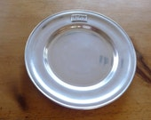 Wilton Armetale Pewter Decorative commemorative Plate 1789