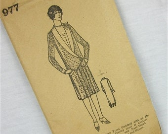 Vintage 20s Dress Sewing Pattern