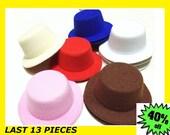 Mini Top Hat base, Mini Hat base, Mini Hat Bases, Hat base, Hat bases, Round hat base 13 pieces LAST SET