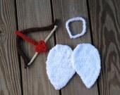 Instant Download - PDF Cupid crochet pattern - angel - photo prop