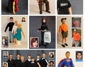 Reserved Listing for Carly, custom sculpted action figure