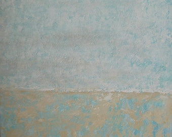 Serenity abstract minimalist painting