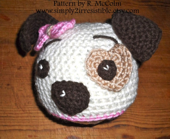Hound Dog Puppy Hat Pattern Crochet Pattern 19 Beanie and