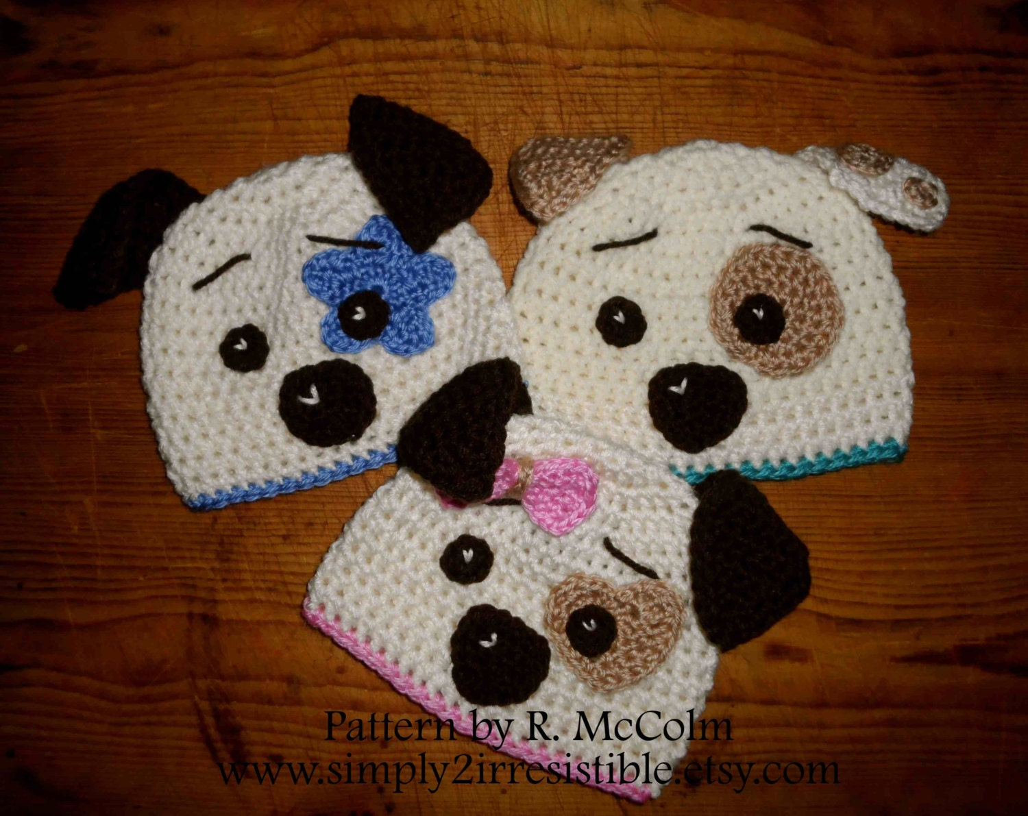 Hound dog puppy hat pattern crochet pattern 19 beanie and this is a digital file bankloansurffo Gallery