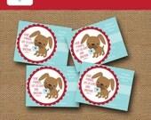 Kids Printable Valentine Card | Puppy Dog Valentine | DIY PRINTABLE | Christian, Bible Verse Valentine for Children | Instant Download
