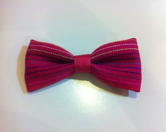 Pink Mexican Fabric Bow