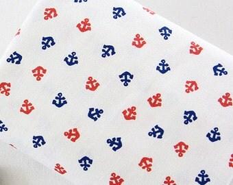 A Fat Quarter of Kawaii Zakka Cotton Linen Printed Fabric - Children Beige Combo